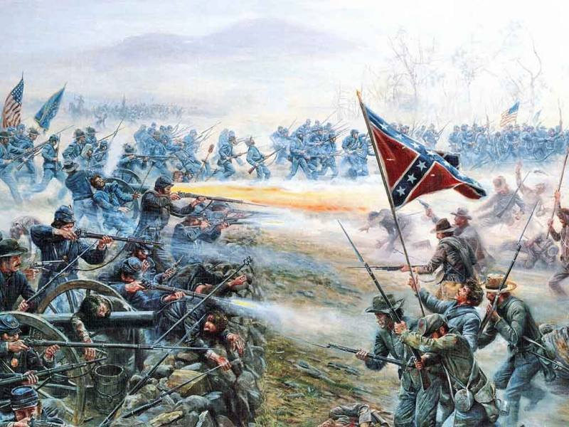 for another mans freedom the battle a gettysburg For cause and comrades: why men fought in the when soldiers go into battle another characteristic that union and confederate soldiers shared with.