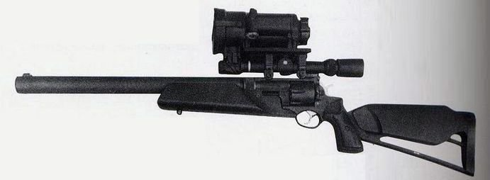 Снайперская винтовка KAC Revolver Rifle